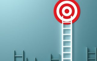 ladder up to a realistic sales goal