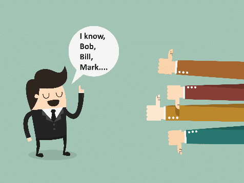 character showing Misconceptions Hiring Salespeople