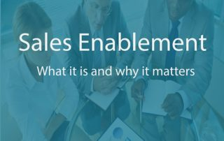 Sales enablement transparency of team working