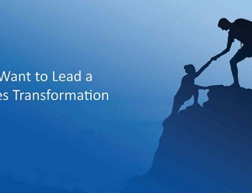 I Want to Lead a Sales Transformation