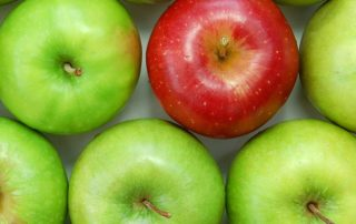 Apples showing Product Differentiation