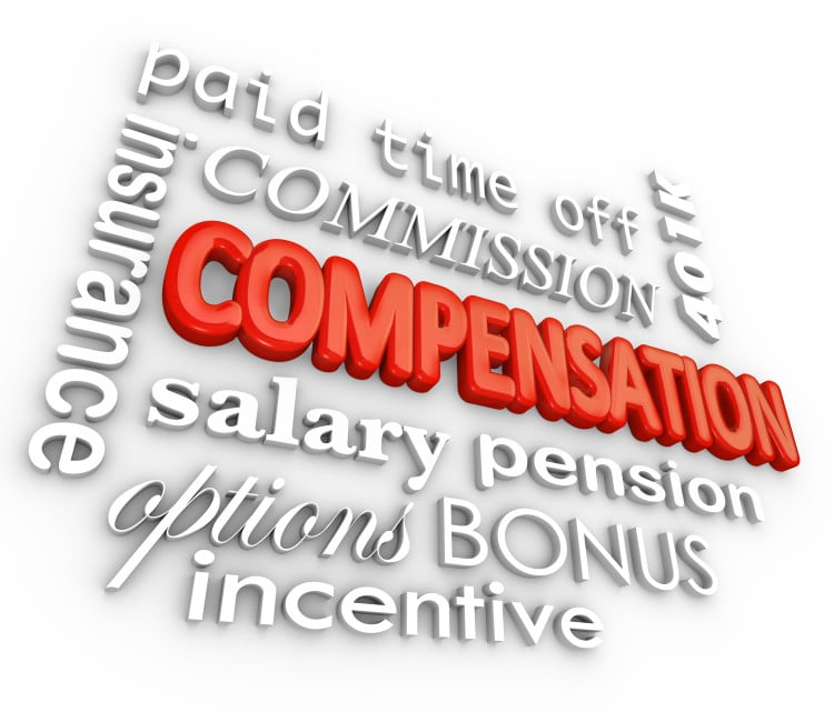 word mix board for sales compensation
