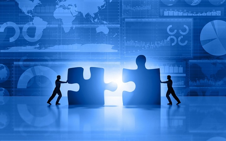 putting the pieces together of a puzzle that is sales strategy