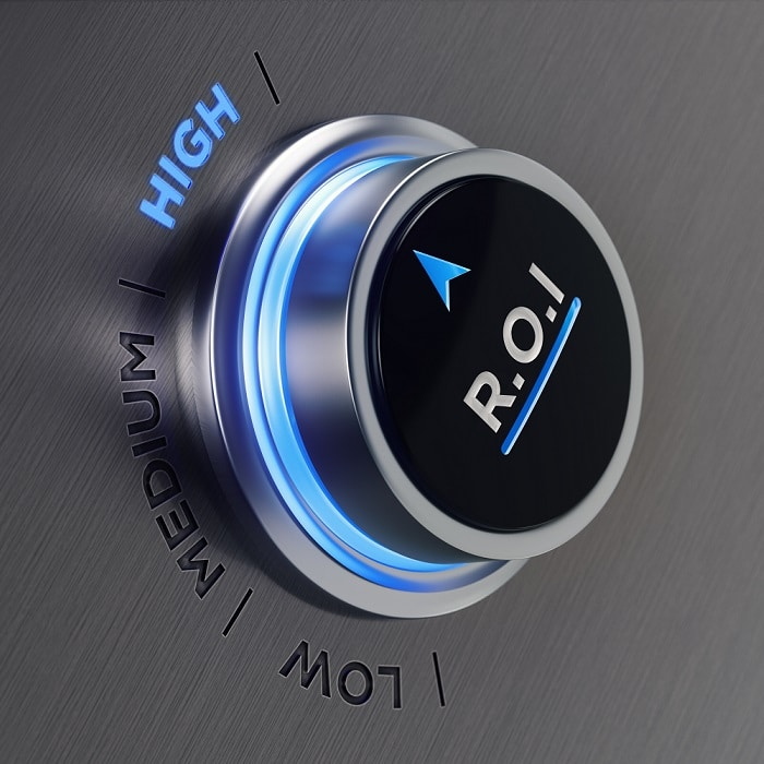 button showing improve marketing contributions