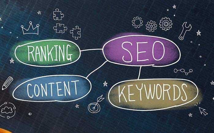 Search Engine Optimisation Business Concept Image