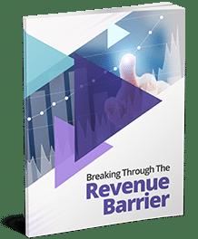 Breaking Through Revenue Barrier Business Concept