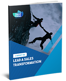 Leading A Sales Transformation Business Concept