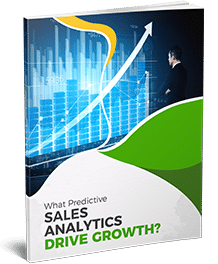 Sales Analytics Drive Growth Business Concept